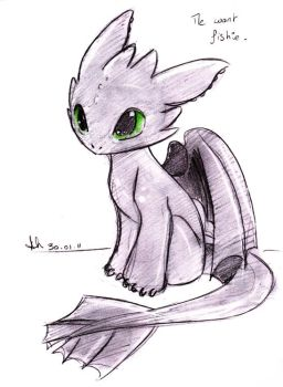 .: Baby Toothless :. by SkyeCrys