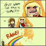 PP RAGE ADVENTURES by Blazin-Hearted