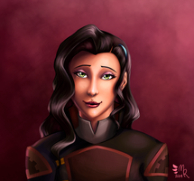 LoK Badge Series: Asami Sato by May-Romance