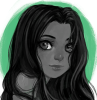 Jui - commission sketch headshot by AntheiaVaulor