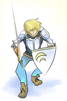 Jaune Arc Doodle by DeadlyObsession