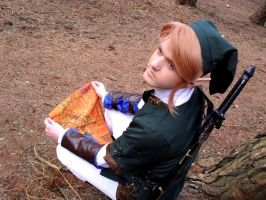 Link Cosplay: Map Reading 2 by Jack-0f-Diam0ndz