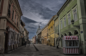Miletic street by mmirkovic