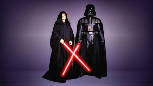 Darth Vader and the Emperor by Dave-Daring