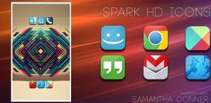 Spark HD Icon Pack by sammyycakess