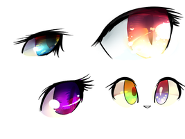 Eyes doodle by baimon2000