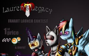 Lauren's Legacy contest reminder_win 600 points by Evil-Rick