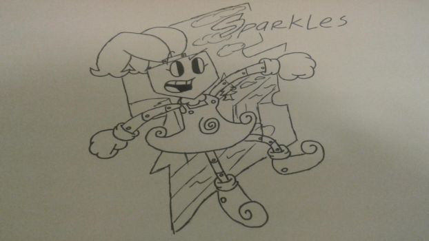 Free Sketches #1:Sparkles by PocketPin