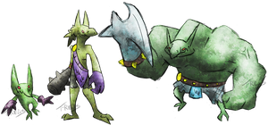 War Goblin Fakemon by T-Reqs