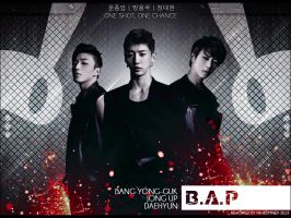B.A.P. Unofficial wall paper 800x600 by nk-complex