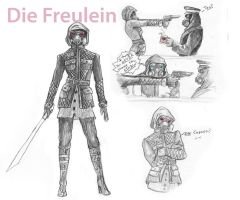 The Fraulein by stargate4ever23