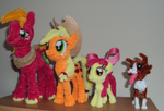 Apple Family by PonyCrafter