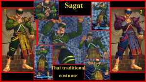 Sagat Thai Traditional costume by salimano3