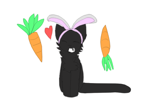 Alasia LOVES carrots by AnamayCat