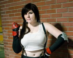 Let's Do This! - Tifa Cosplay by KawaiixRingo