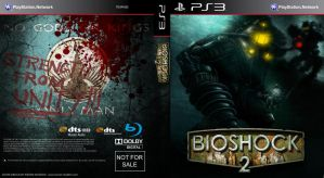 Bioshock 2 PS3 Custom Cover by Kmadden2004