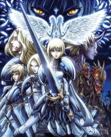 Claymore by Diego-Rodriguez