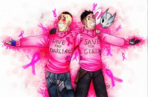 Pink sweaters Gluskins by DeathRage22