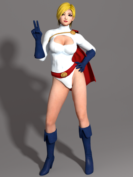 DOA5LR Naotora Ii - Power Girl [DL] by Shuubaru