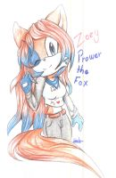 zoey prower (AT) by candycandy-chan