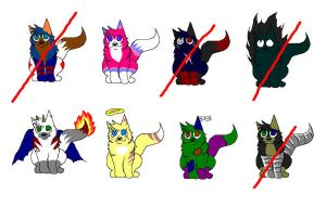 Adoptables - CLOSED by Forest-shrine-wolf