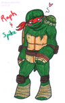 A Turtle and His Pet Turtle by Strabius
