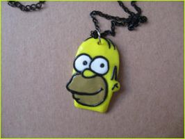 Fimo Homer Simpson by AwesomeNickname