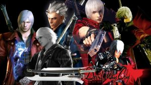 Devil May Cry Collage by blasiankid