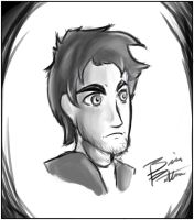 Human cartoon sketch by ChaserTech