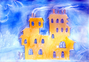 Lodger's winter house by inq-princess