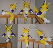 Ravishing Renamon by PlushPrincess