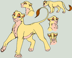 lion king OC Maisha by rhymeisreason