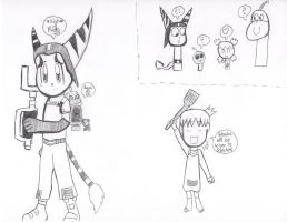 Ratchet and Clank crossover 3 by Ayuki-Karpy