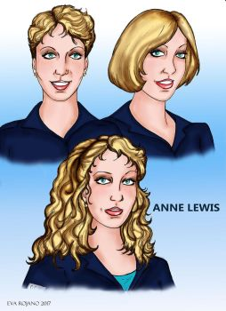 The three faces of Anne by amazona2016