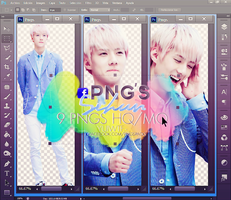 .+Pack PNG Sehun by USucks