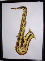 Saxophone by X2ca