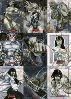 Marvel: 2012 Greatest Heroes Sketch Cards 07 by RichardCox