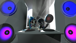 DJ-pon3 and tavy by frikay29