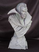 The Tomb of Dracula bust 1 by Blairsculpture