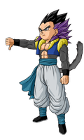 Gotenks SSj8 by GokuGarlic