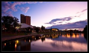 Torrens Sunset by takai