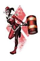 Comms: Harley Quinn by sakuyasworld