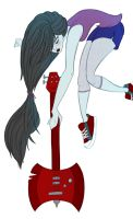 Marceline The Vampire Queen by mirics