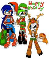 happy holiday 2012 by Mongoosegoddess