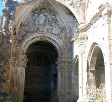 ruins of a monastery by indiswendis