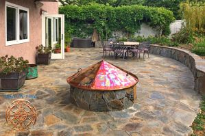 Kittell's Fire Pit Copper Cover 1 by DarrianAshoka