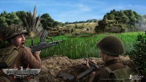 Festung Europa concept - Panzer counterattack by JanKlimecky