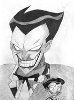 Joker animated with Robin by Ricardocartoon1