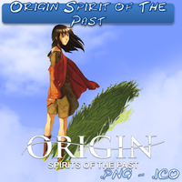 Origin Spirit of The Past ICO,PNG and Folder by bryan1213