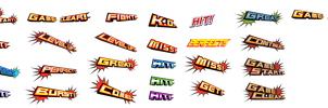 Kamen Rider Ex-Aid Effects Logos by Waito-chan